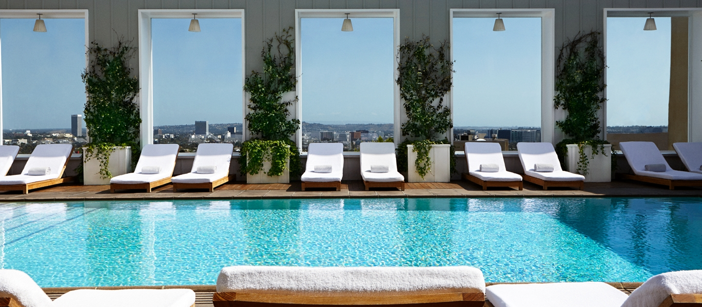 Mondrian LA Pool shown here