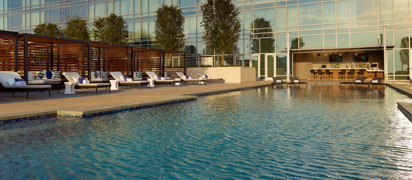 Omni Frisco pool shown here