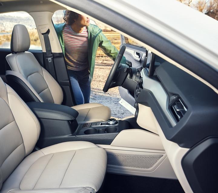 2020 Ford Escape S E L interior