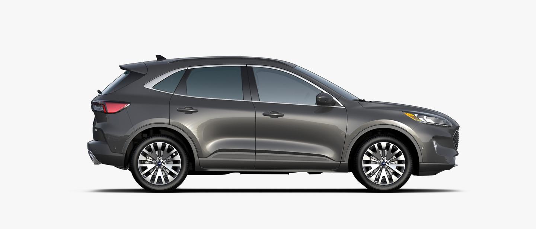 2020 Ford Escape Titanium Hybrid in Magnetic