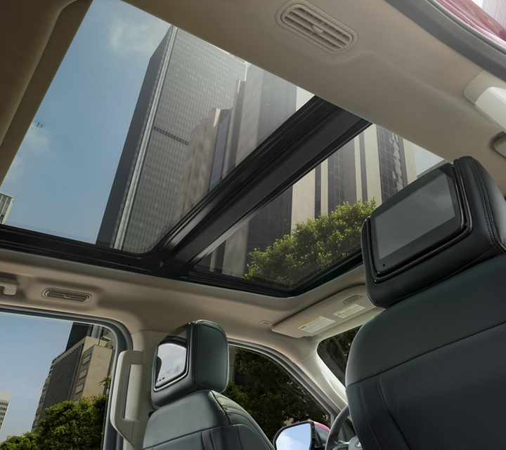 The 2019 Expedition with its available panoramic Vista roof