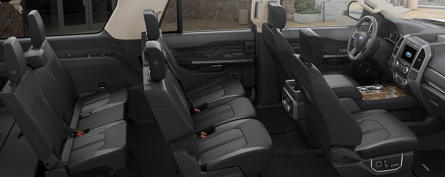 2019 Ford Expedition interior