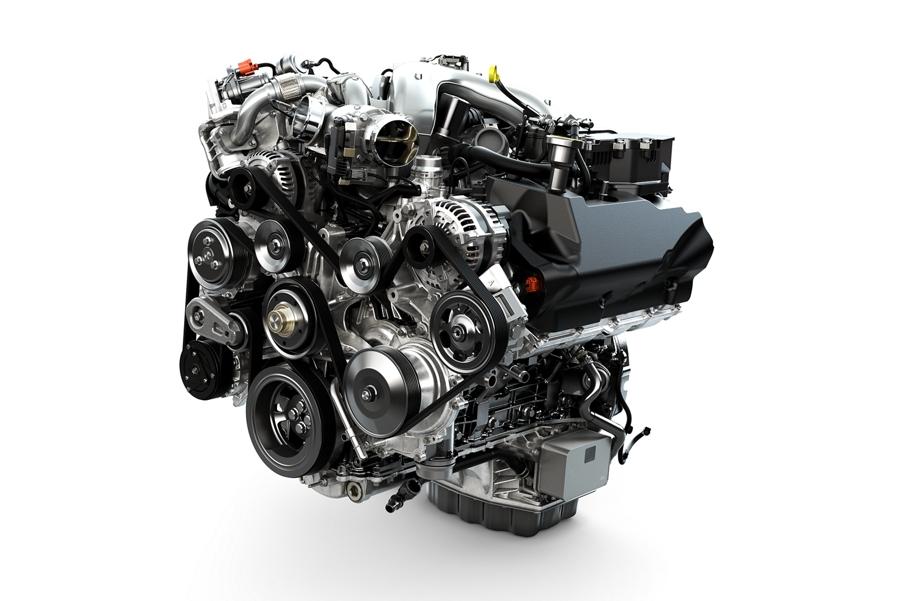 2020 Super Duty featuring 6 point 7 Litre Power Stroke Turbo Diesel