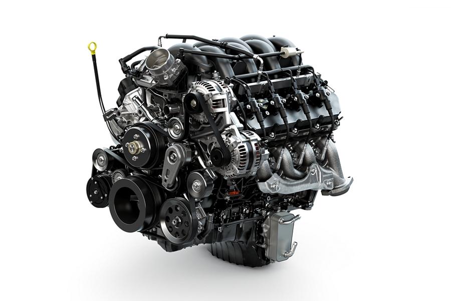 2020 Super Duty 7 point 3 litre V 8 gas engine