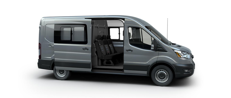 The new transit crew van