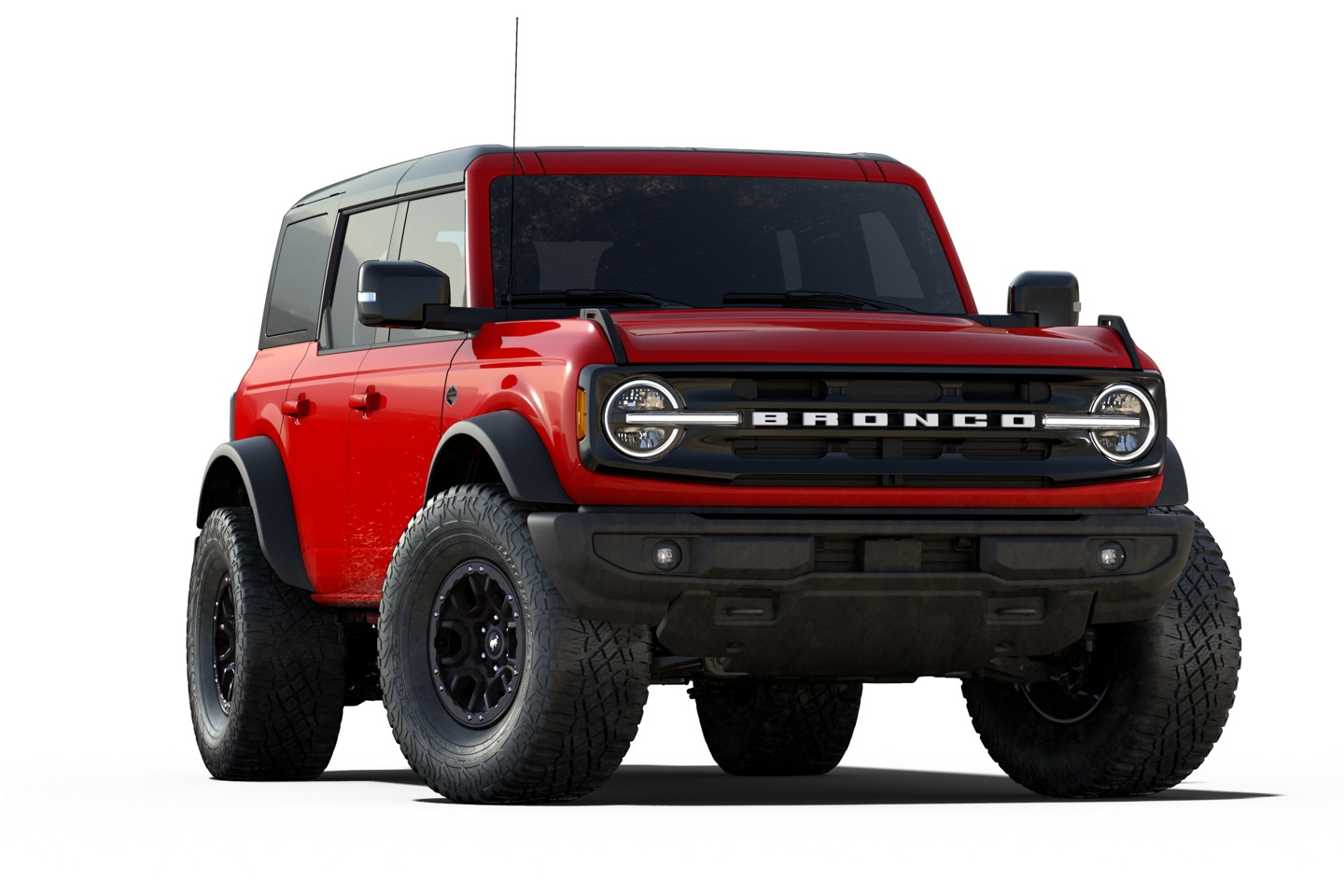2021 Ford Bronco Wild Trak Model