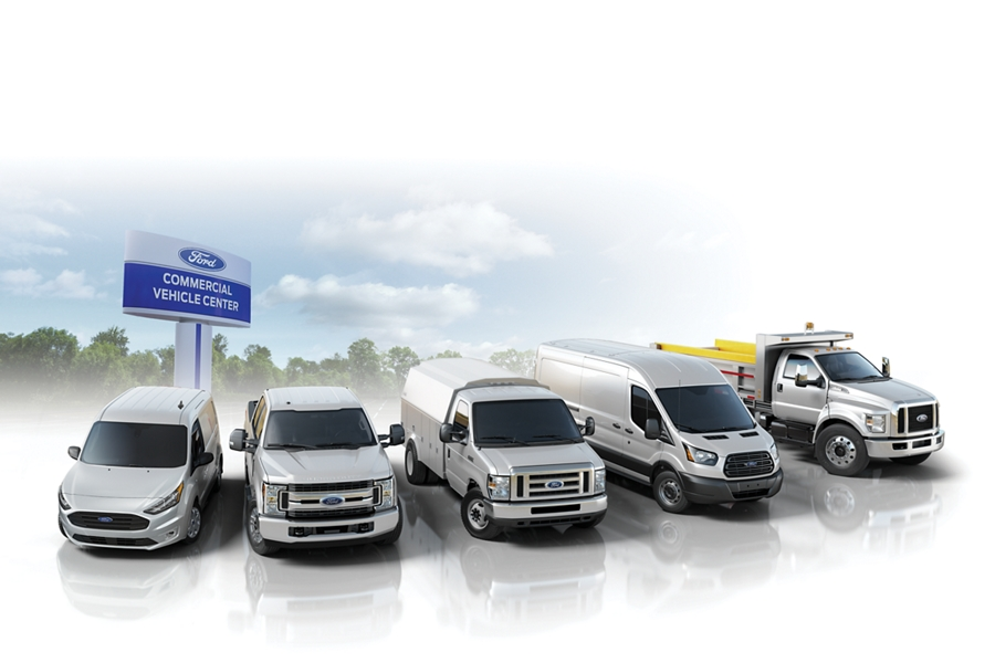 Over 675 dealers in the Commercial Vehicle Center