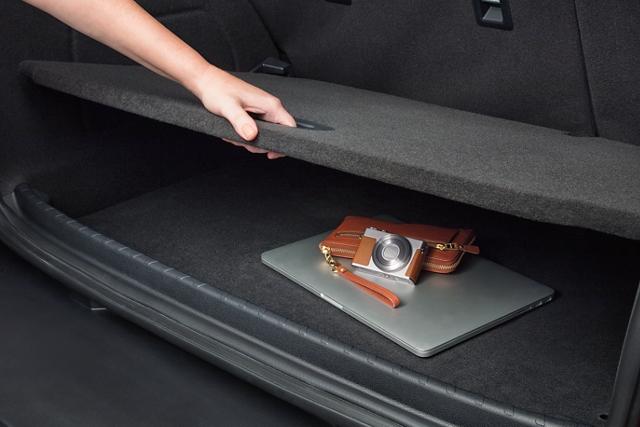 2020 Ford EcoSport cargo management system