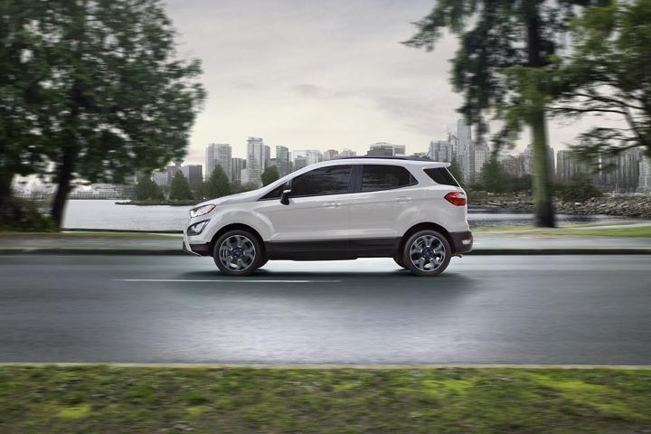 2020 Ford EcoSport S E S in Diamond White Metallic Tri Coat