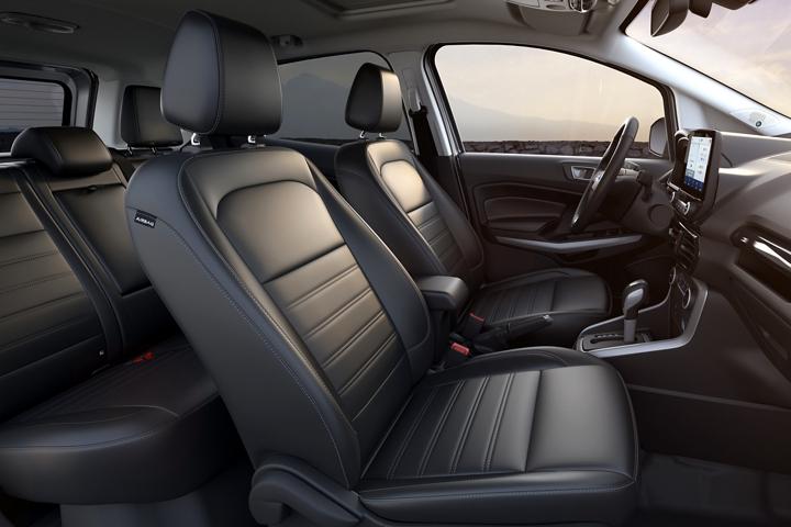 2020 Ford EcoSport Titanium with Ebony Black seating