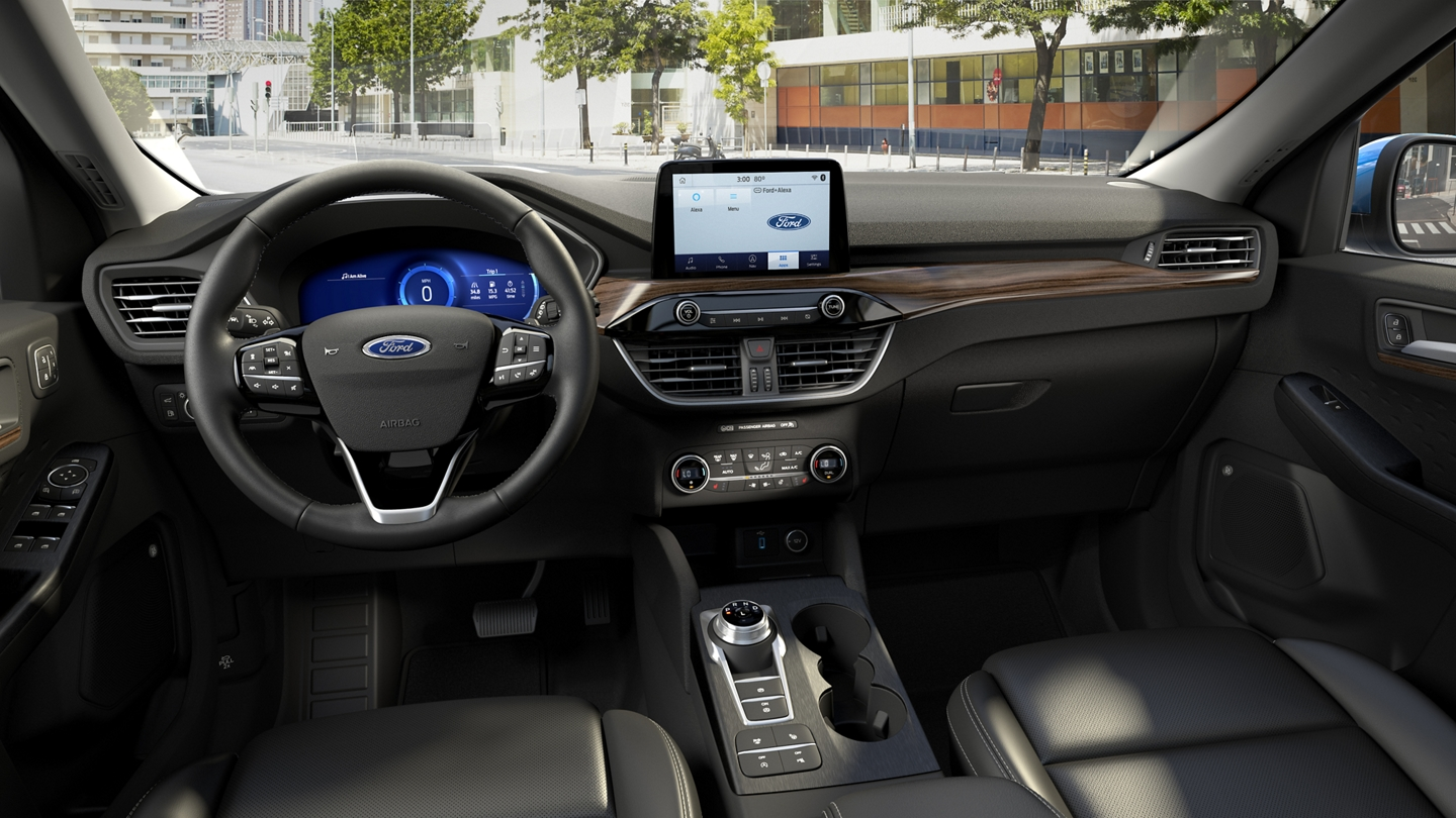 Available Ford plus Alexa technology to help keep you connected