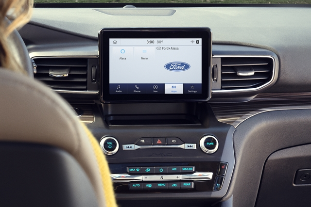 2020 Ford Explorer with Ford plus Alexa