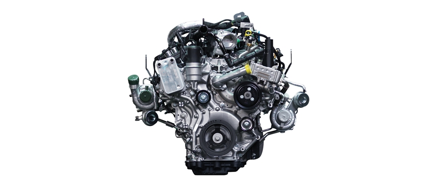 2 point 7 liter EcoBoost engine