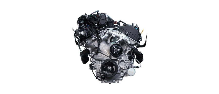 3 point 3 liter V 6 engine