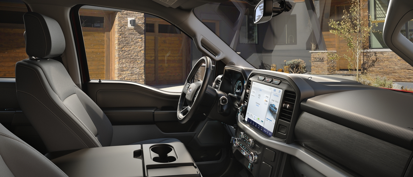 2021 Ford F one fifty X L T interior