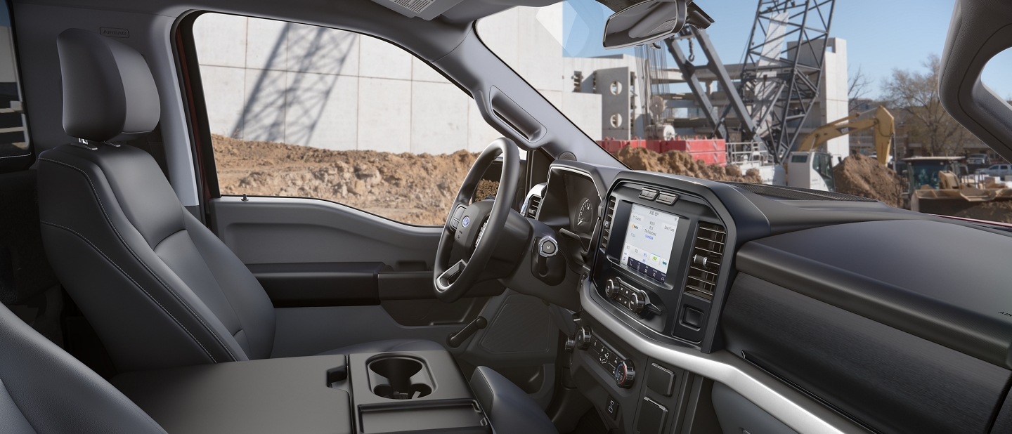 2021 Ford F one fifty X L interior