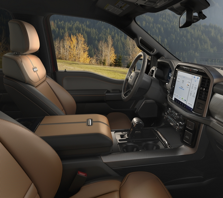 2021 Ford F one fifty interior in Carmelo