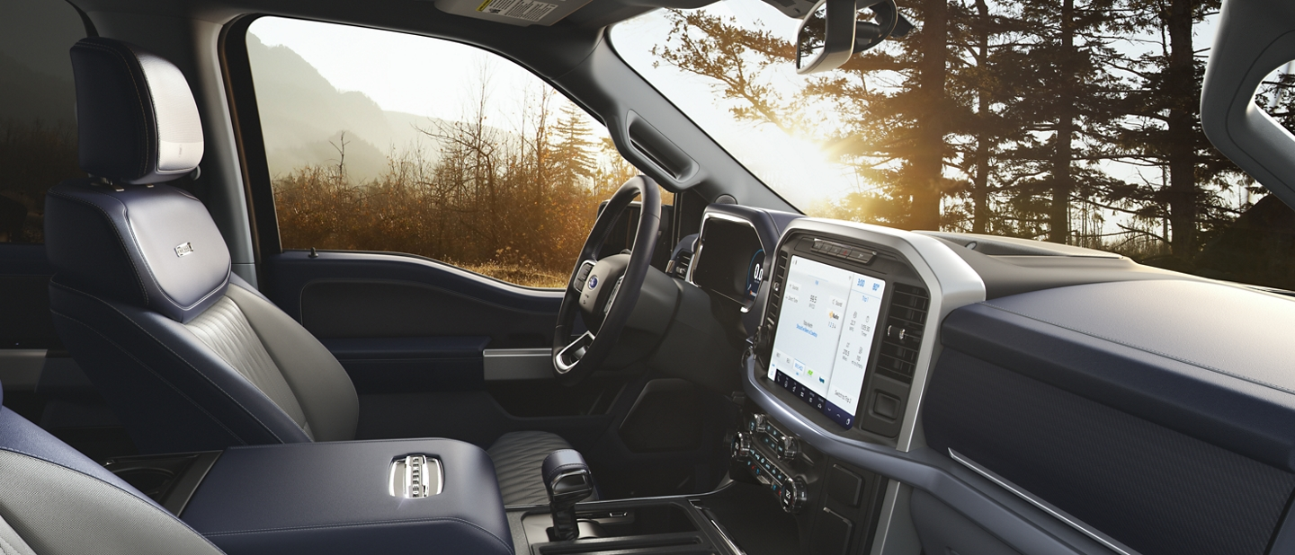 2021 Ford F one fifty Limited interior
