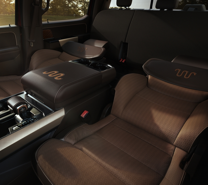 2021 Ford f one fifty interior with max recline seats