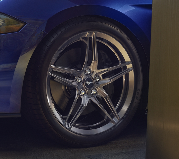 19 inch luster nickel painted forged aluminum wheel