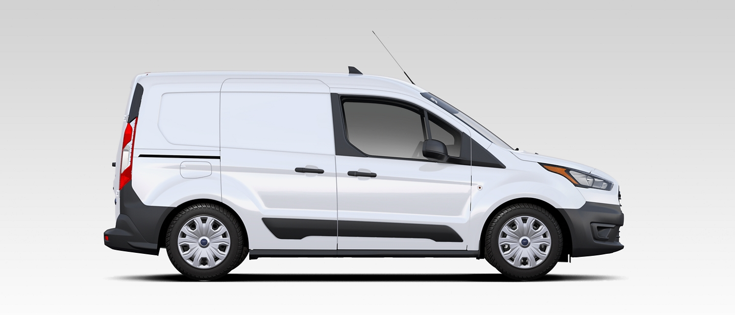 The built ford tough 2020 Ford Transit Connect Cargo Van