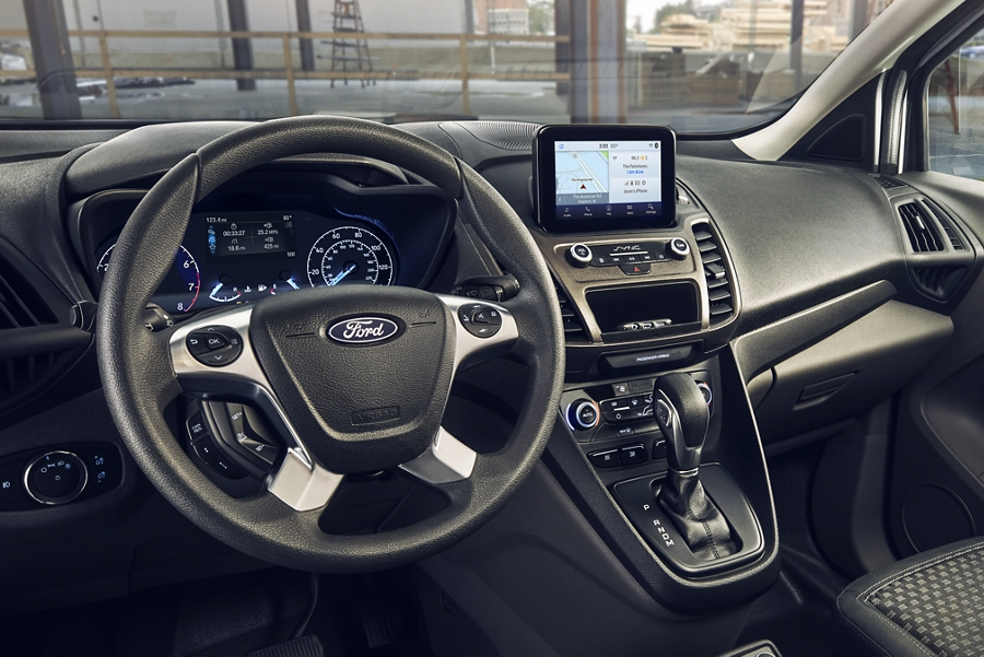 2020 Ford Transit Connect Passenger Wagon interior with available smart technology