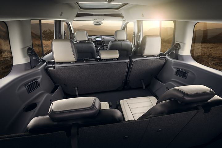 Interior with available seating configuration