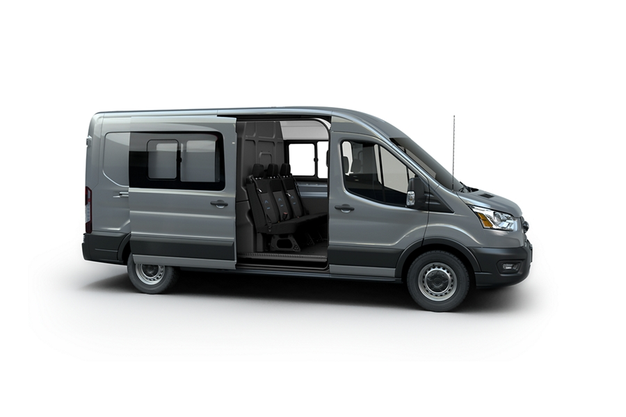 The new transit crew van