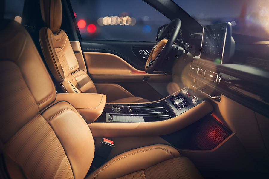 2020 Black Label Lincoln Aviator with Perfect Position Seats
