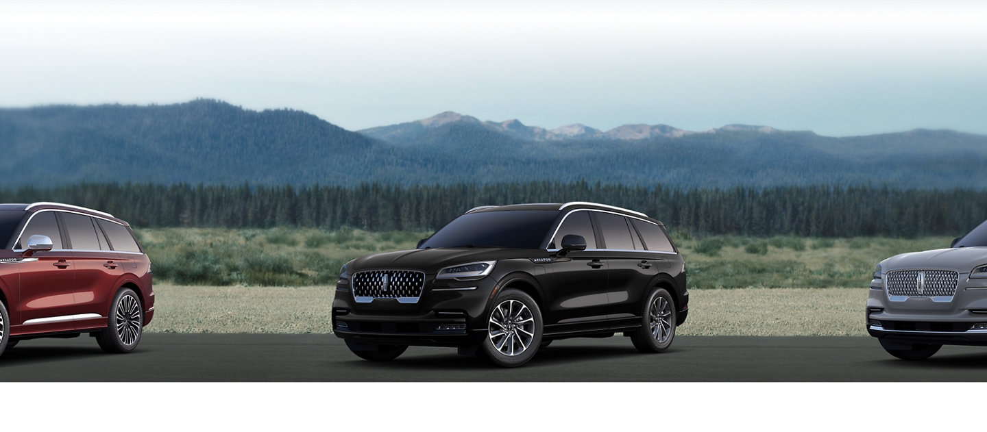 2020 Lincoln Aviator Grand Touring Shown here in Infinite black