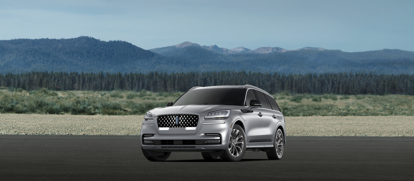 A 2021 Lincoln Aviator Grand Touring model is shown