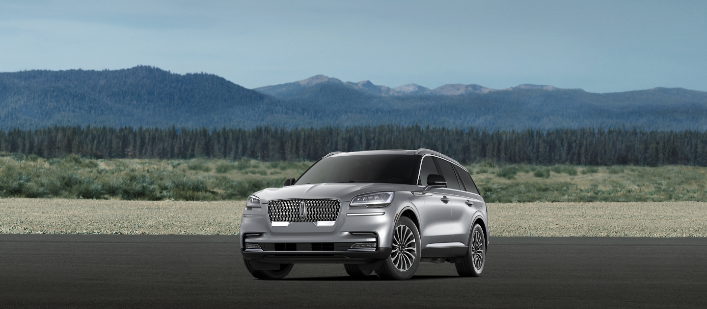 A 2021 Lincoln Aviator Reserve model is shown