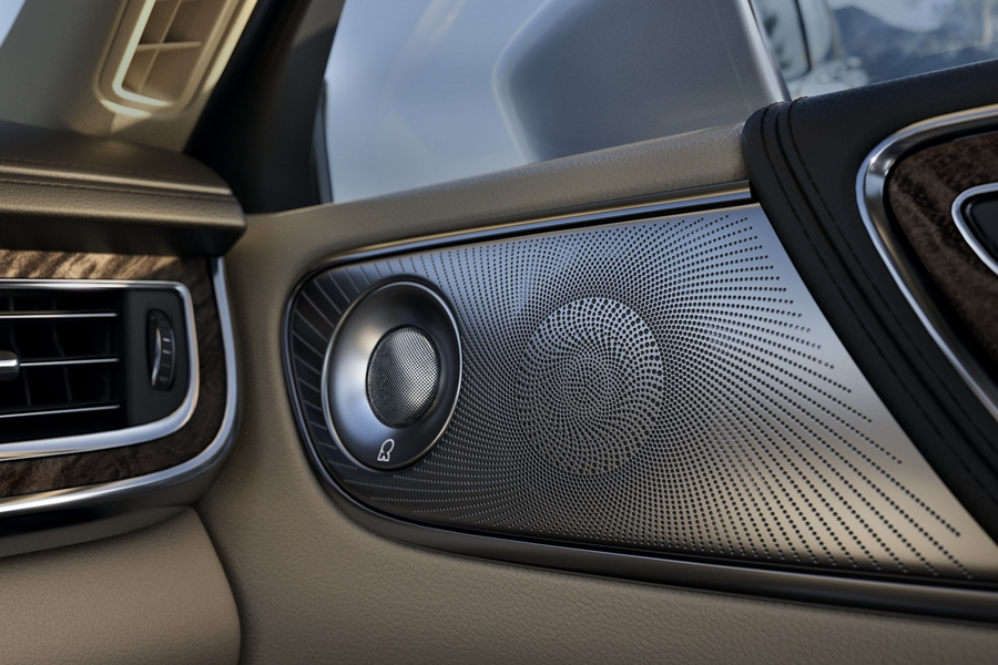 2020 Black Label Lincoln Continental with Revel Ultima Audio System