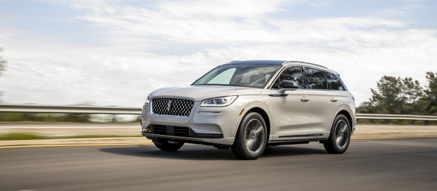 Lincoln Corsair Grand Touring Plug in hybrid shown here