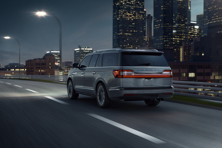 2020 Black Label Lincoln Navigator has Co-Pilot 360 to assist driving