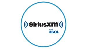 Blue icon with SiriusXM logo