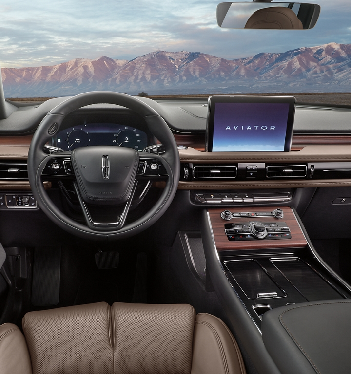 Lincoln Aviator SYNC 3 display