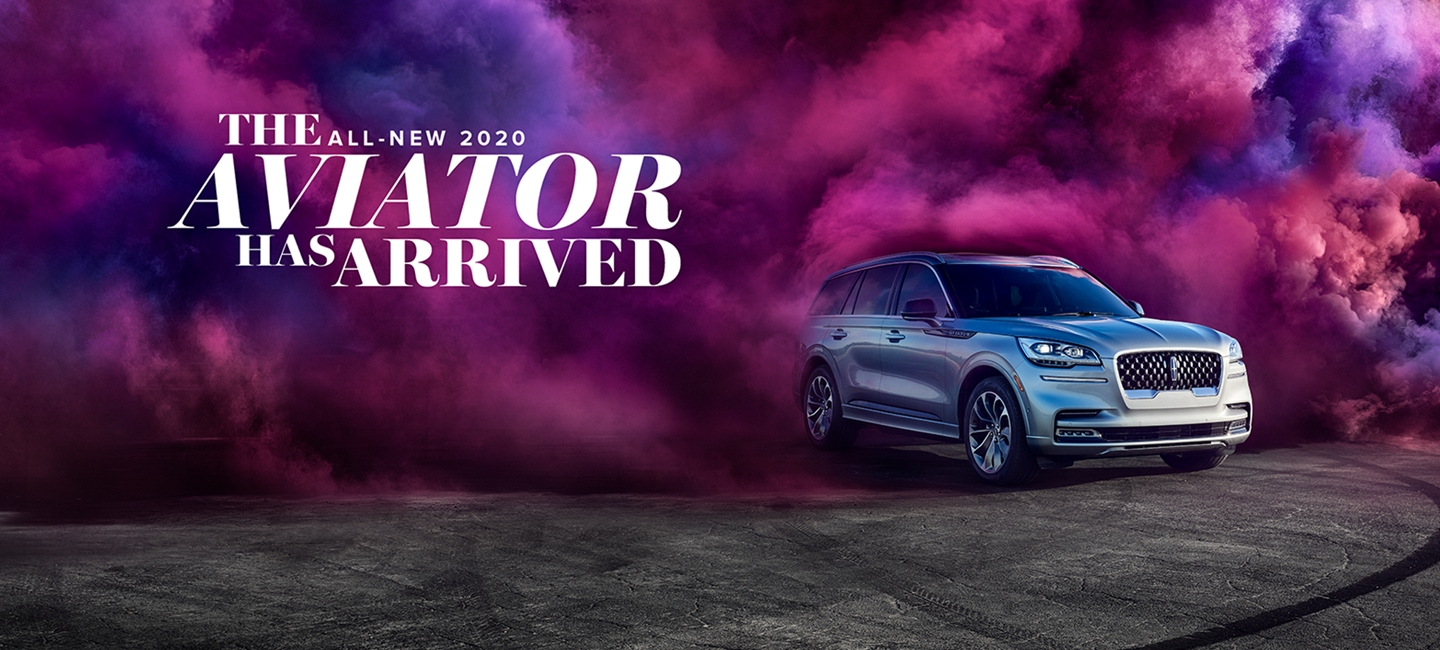The all new 2020 Lincoln Aviator Grand Touring model shown here.