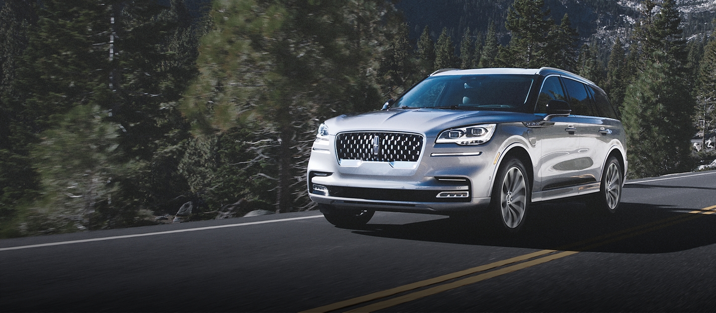 Lincoln Aviator Grand Touring Shown Here