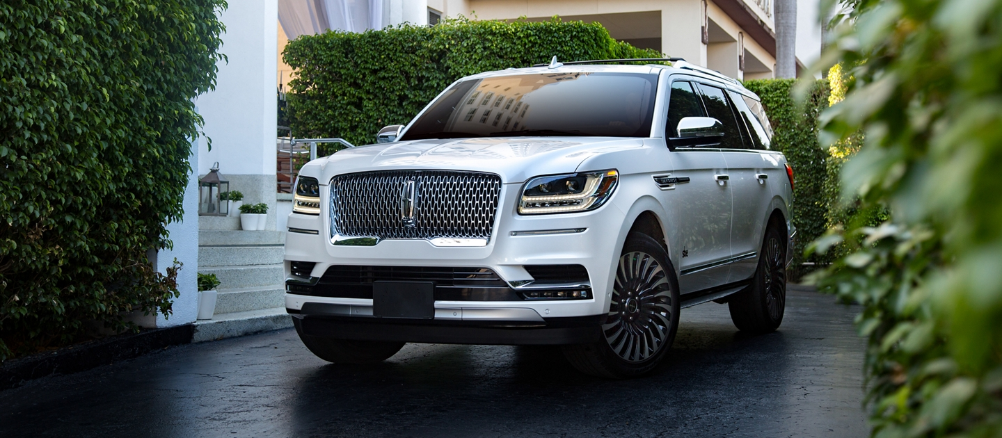 Courtesy Lincoln Navigator vehicles shown here