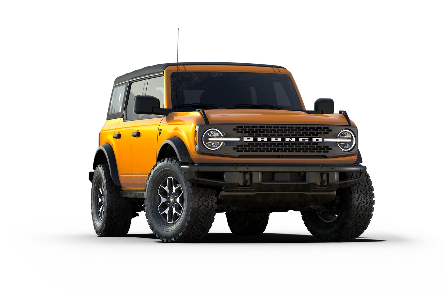 2021 Ford Bronco Badlands Series