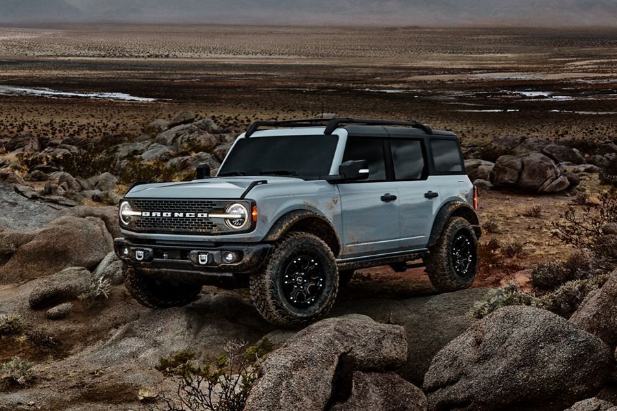 2021 Ford Bronco 4 door with available sasquatch package