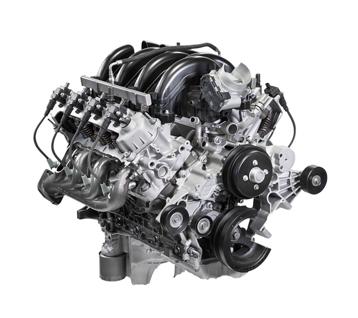 A Standard 7 point 3 litre v 8 engine