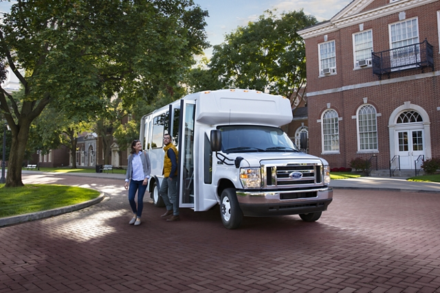 Commuter transport is another 2021 Ford E Series speciality