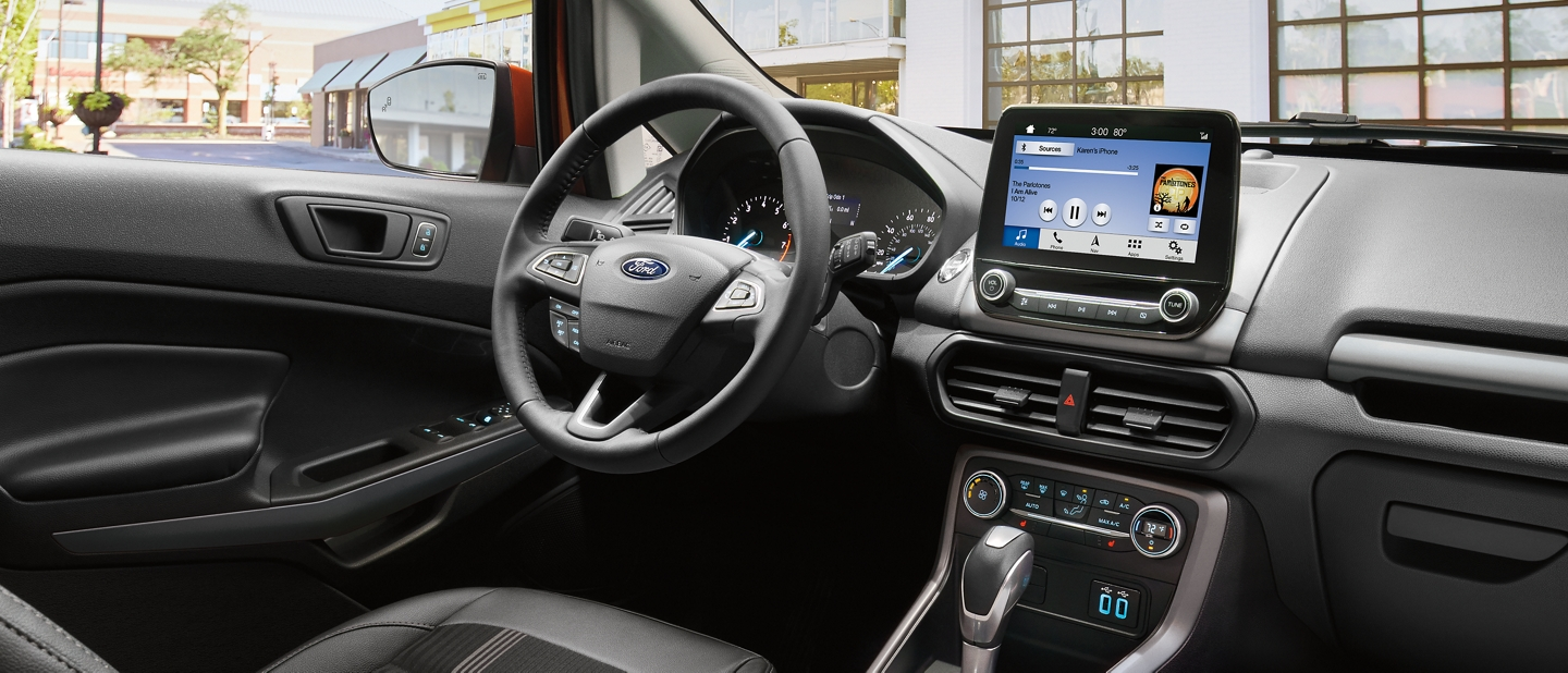 2019 ford ecosport compact suv technology features. Black Bedroom Furniture Sets. Home Design Ideas