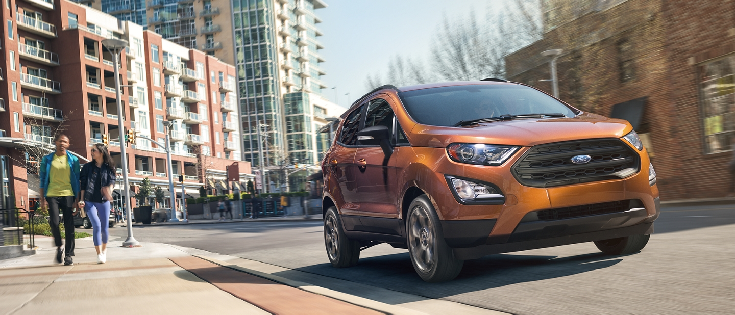 2019 EcoSport in Canyon Ridge with a body colour painted roof