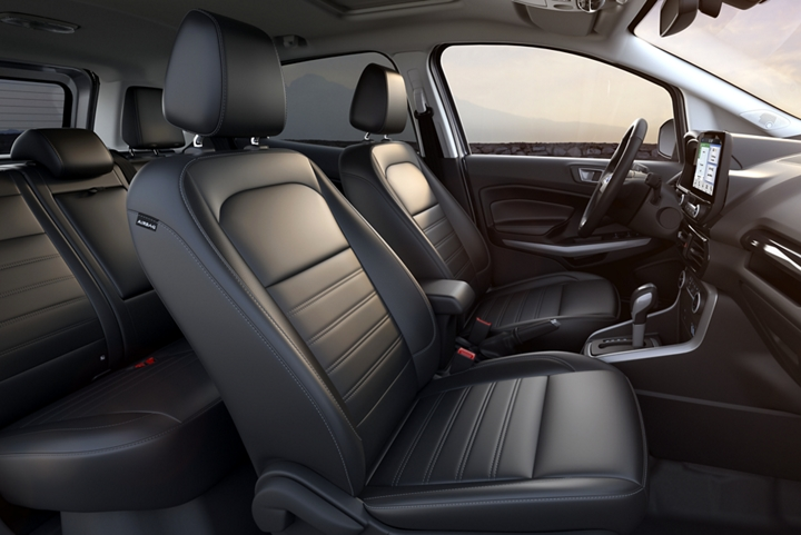 2019 EcoSport Titanium with Ebony Black seating