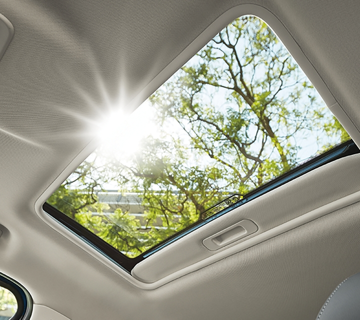 2020 Ford EcoSport Titanium with power moonroof