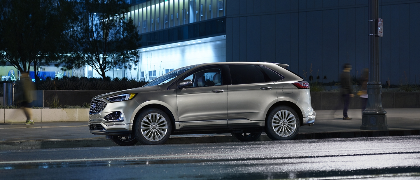 Stylish exterior of the 2020 Ford Edge