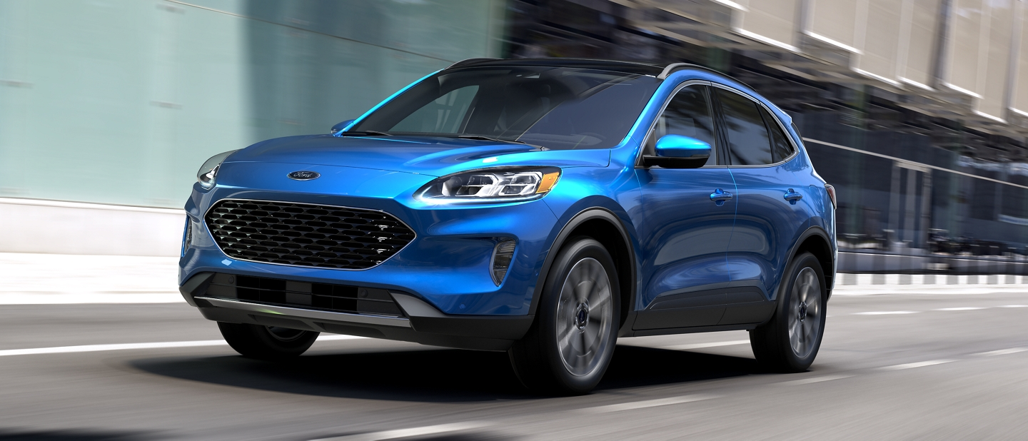 2020 Ford Escape using available 2 litre EcoBoost engine with auto start stop technology